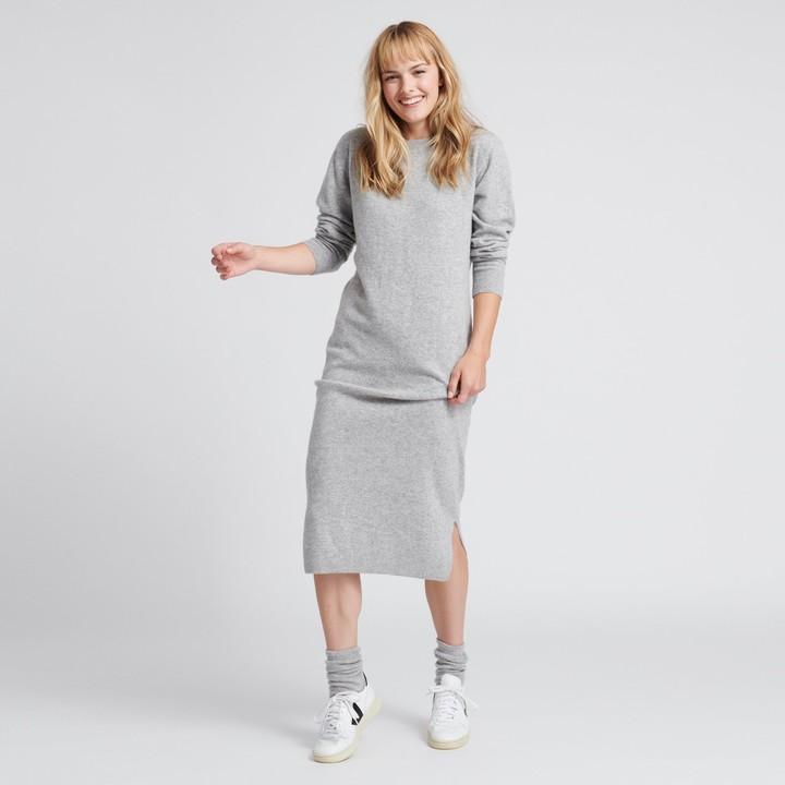 Wool Cashmere Sweater Dress
