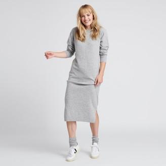 Naadam Wool Cashmere Sweater Dress