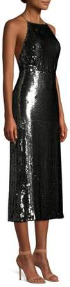 Jason Wu Collection Sequined Crisscross Strap Dress