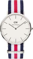 Daniel Wellington Classic Canterbury 40mm Silver Watch