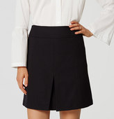 LOFT Front Pleat Skirt