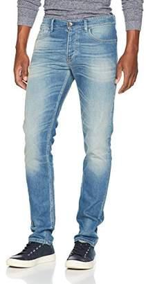 Benetton Men's Straight Jeans, (Blue 902), W34/L33 (Size: 34)