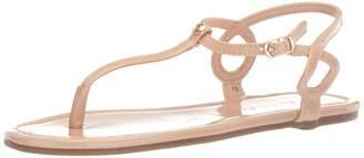 Rock & Candy Women's Jaina Flat Sandal Nude 9 Medium US