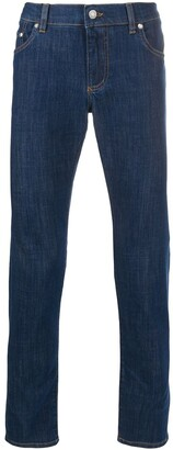 Dolce & Gabbana Slim Cropped Jeans