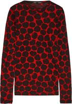 Proenza Schouler Printed slub cotton-jersey top