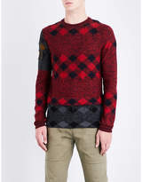 Lanvin Patchwork wool jumper