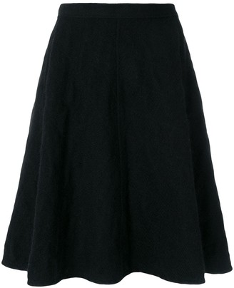 Junya Watanabe Comme Des Garçons Pre Owned Quilted Flared Skirt
