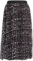 Saint Tropez BLACK PANTER Pleated skirt wine