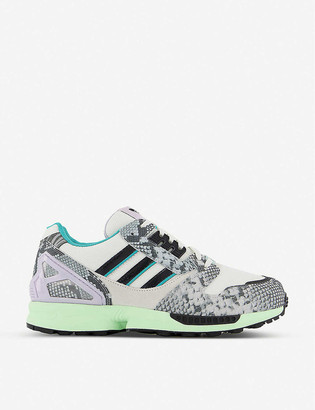adidas ZX 8000 suede and mesh trainers