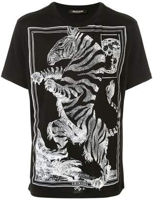 Roberto Cavalli graphic print T-shirt