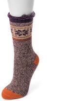 Muk Luks 1 Pair Boot Socks - Womens