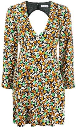 Rixo Floral Print Dress