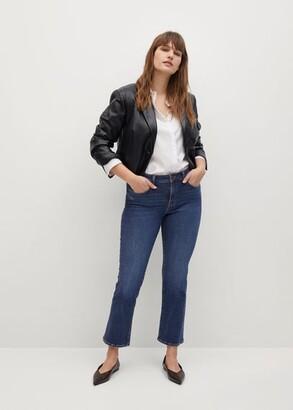 MANGO Bootcut flare jeans