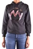 Meltin Pot Women's Black Cotton Sweatshirt.