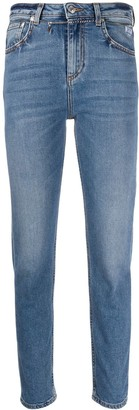 MSGM Slim Faded Jeans