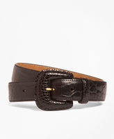 Brooks Brothers Alligator Trouser Belt