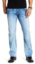 "Buffalo David Bitton King Slim Bootleg Jeans - 30-34\"" Inseam"