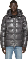 Moncler Charcoal Quilted Down Maya Jacket