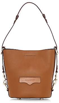 Rebecca Minkoff Women's Small Utility Convertible Leather Bucket Bag