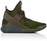 adidas Men's Tubular X Primeknit Sneakers-DARK GREEN