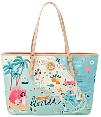 Map Tote Spartina Florida