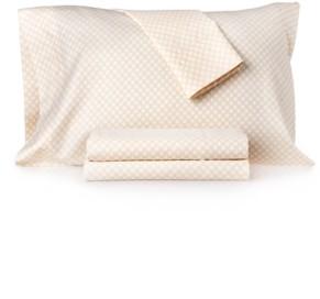 Charter Club Damask Designs Texture Dot Full Sheet Set Bedding