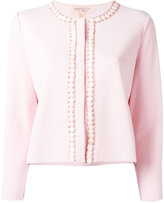Giambattista Valli embellished trim jacket - women - Polyester/Viscose - 44