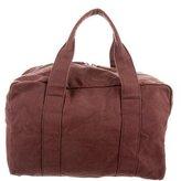 Prada Woven Duffle Bag