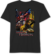 JEM Transformers-Print Cotton T-Shirt, Big Boys (8-20)