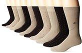 Dockers 10 Pack Classics Dress Dobby Crew Socks