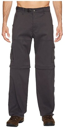 Prana Stretch Zion Convertible Pant (Charcoal) Men's Casual Pants