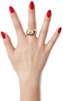 Aurelie Bidermann Lauren 18kt Yellow Gold Plated Ring