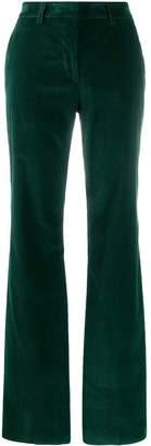Etro corduroy flared trousers