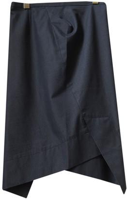 Vivienne Westwood Blue Cotton Skirt for Women