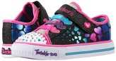 Skechers Twinkle Toes - Shuffles 10719N Lights (Toddler/Little Kid)