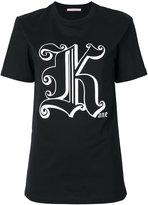 Christopher Kane Gothic K T-shirt