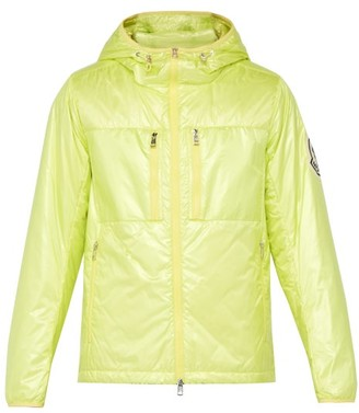 2 Moncler 1952 - Logo-applique Hooded Quilted Down Jacket - Yellow