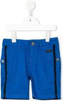 Karl Lagerfeld side stripe shorts - kids - Cotton - 2 yrs