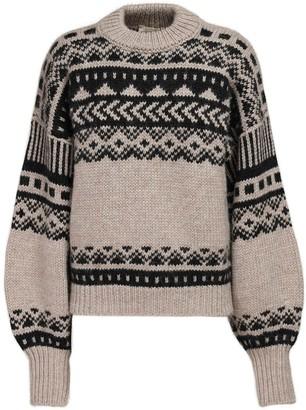 LOULOU STUDIO Asco Knit Wool & Alpaca Sweater