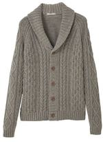 Cotton Wool-blend Cardigan