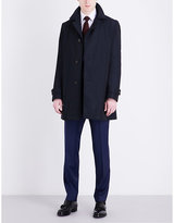 Hugo Boss Notch Lapel Shell Coat