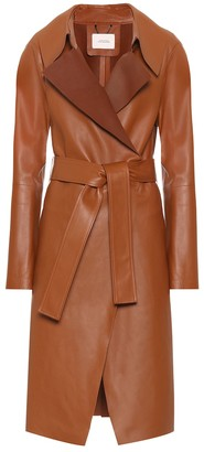 Dorothee Schumacher Exclusive to Mytheresa a Modern Volumes leather trench coat