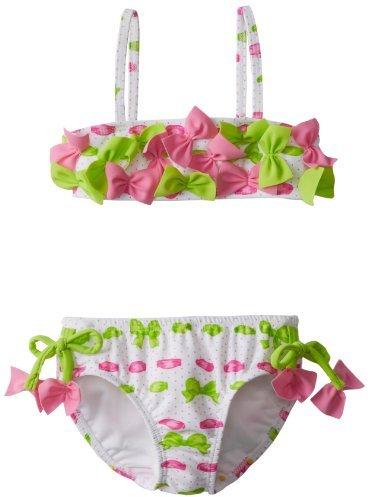 Kate Mack Girls 2-6X Beach Bows Bikini