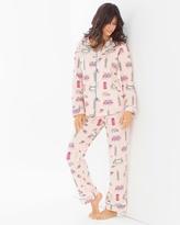 Soma Intimates Knit Pajama Set London Calling
