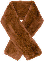 Yves Salomon Four Rex scarf