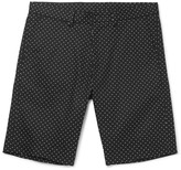 Dolce & Gabbana - Slim-fit Polka-dot Stretch-cotton Twill Shorts