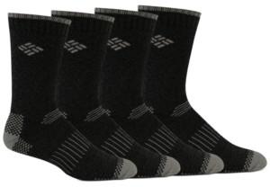 Columbia Men's 4-Pk. Moisture-Control Boot Socks