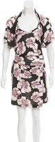 Alexandre Herchcovitch Floral Print Mini Dress
