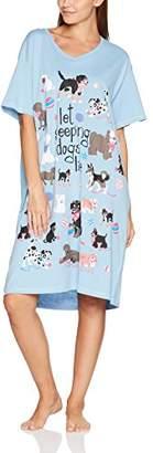 Hatley Little Blue House Women's Sleepshirts Nightie