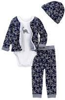 Offspring Dino 4-Piece Set (Baby Boys)